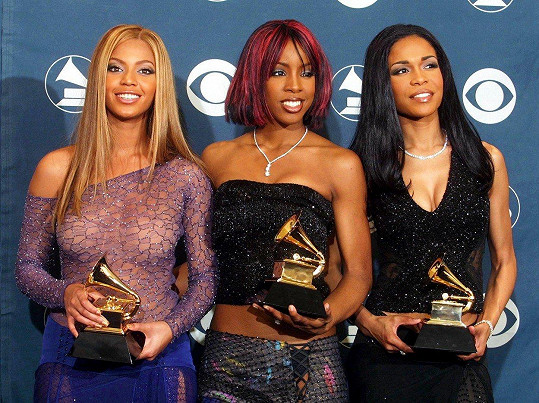Zleva: Beyoncé, Kelly Rowland a Michelle Williams