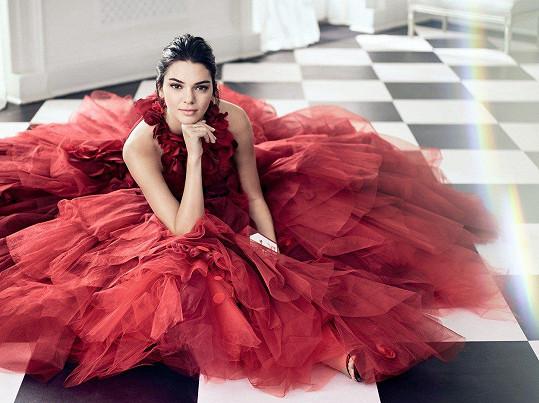 Kendall Jenner je mladší sestra Kim a je momentálně nejlépe placenou modelkou světa. Jistě by jí s propagací pomohla.