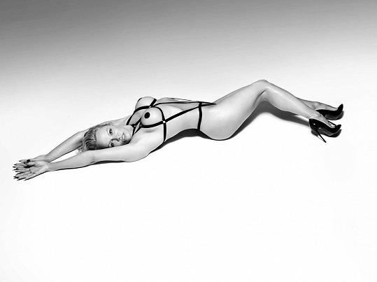 Pamela Anderson je tváří i tělem reklamní kampaně.