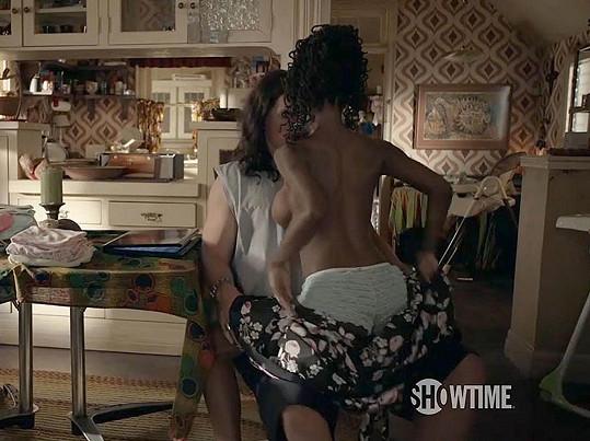 Shanola Hampton a její lechtivá milostná scéna