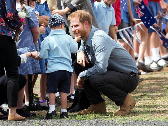 Zaujaly ho princovy vousy.
