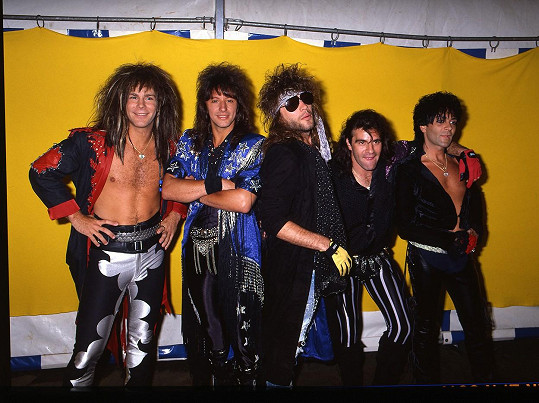 Skupina Bon Jovi v roce 1985