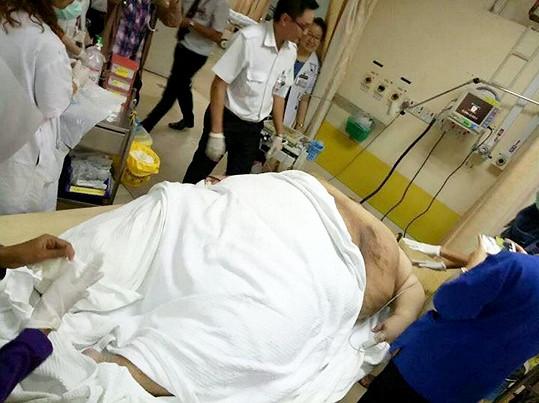 Do nemocnice se nakonec dostal včas.