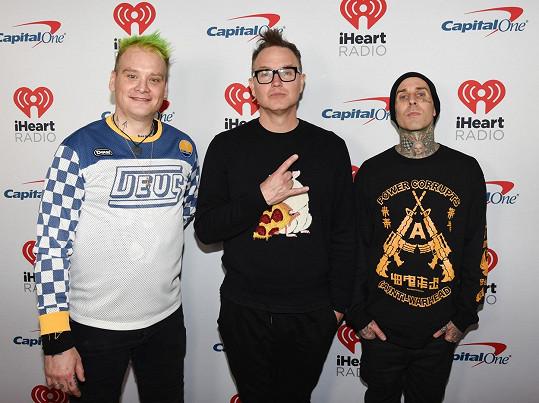 Se svou kapelou Blink-182