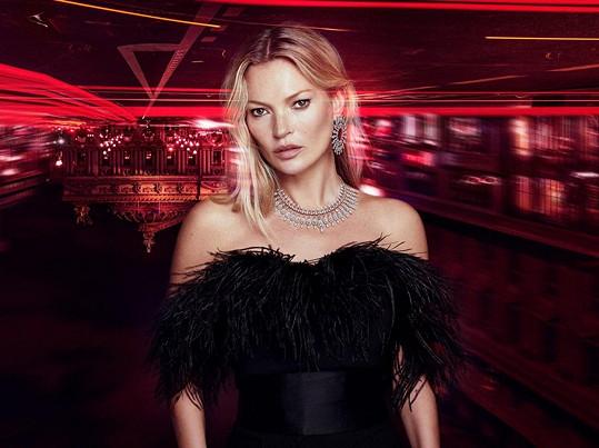 Britská módní ikona se stále řadí mezi jedničky v modelingu.