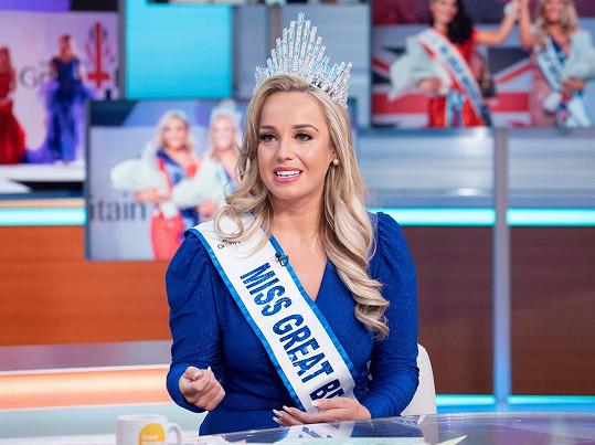 O zkušenostech ze soutěže hovořila v pořadu Good Morning Britain.