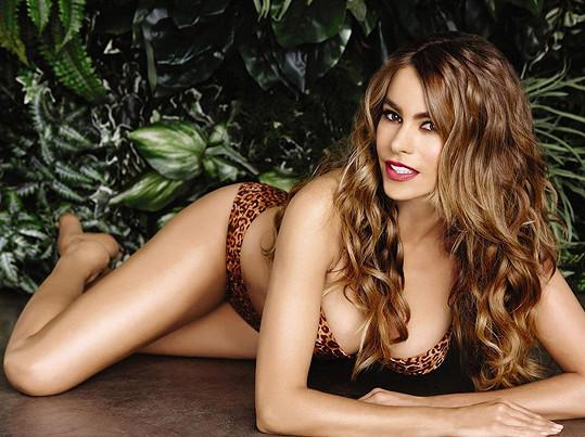Sofia Vergara kraluje žebříčku už pátým rokem.