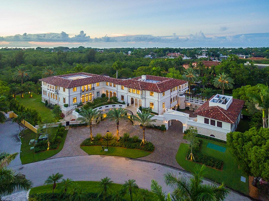 Marc Anthony prodává své luxusní sídlo na Floridě.