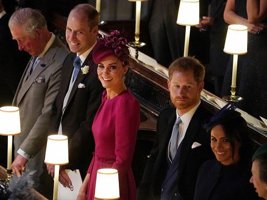Hanlivé komentáře prý nařídil mazat Kensingtonský palác.