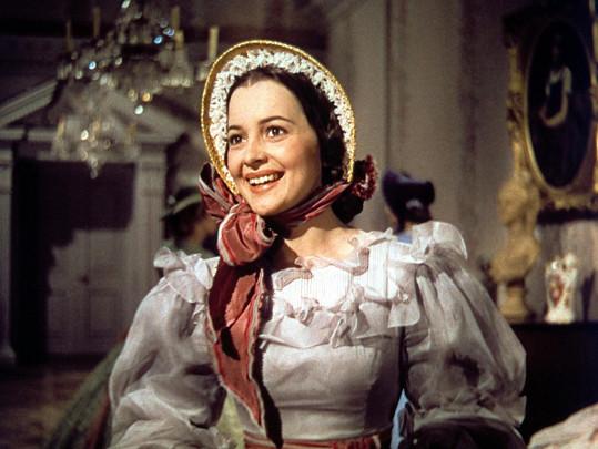 Olivia de Havilland v Jihu proti Severu