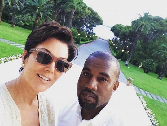 Na paškál si vzal i svou tchyni Kris Jenner.