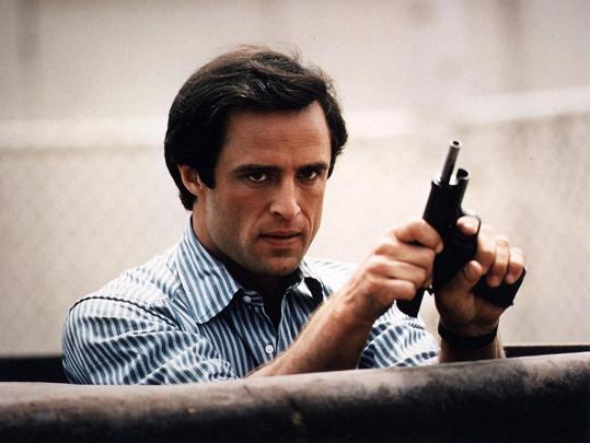 V seriálu Riptide, role v kriminálkách mu šly.