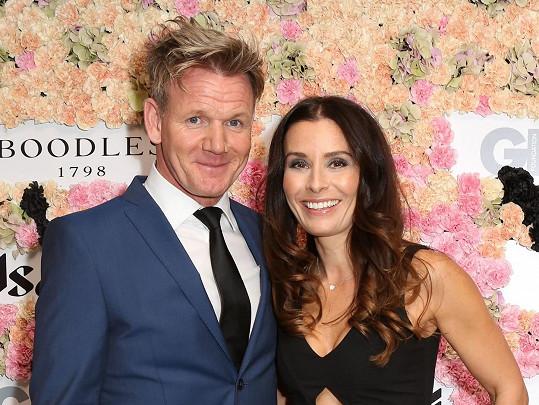 Gordon Ramsay a jeho žena Tana mají celkem pět dětí.