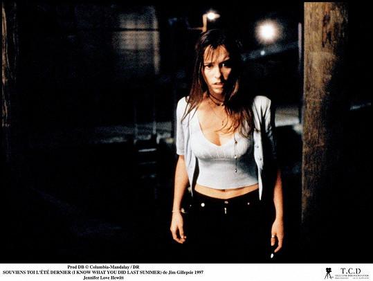 Jennifer Love Hewitt ve filmu Tajemství loňského léta