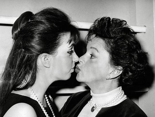 S nejstarší dcerou Lizou Minnelli