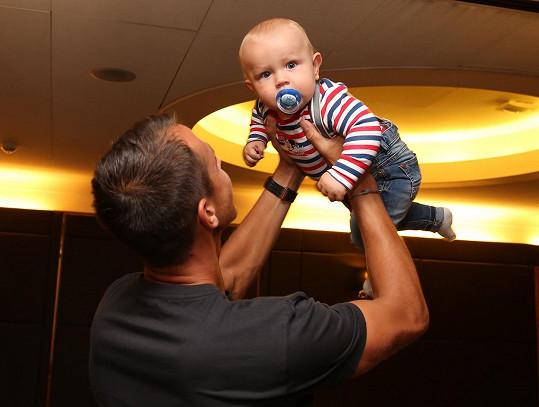 Lukáš Rosol je pyšný tatínek.