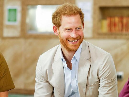 Princ Harry začal pracovat pro kalifornský start-up BetterUp.