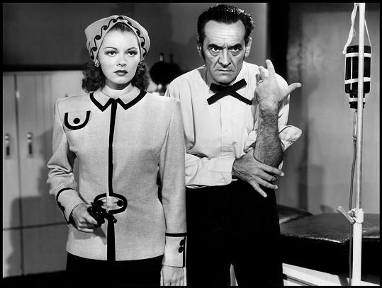 Lorna Gray a Ian Keith ve filmu The Valley of Zombies (1946)