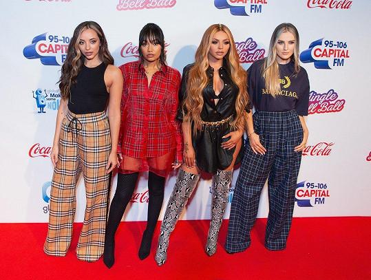 Britská populární skupina Little Mix