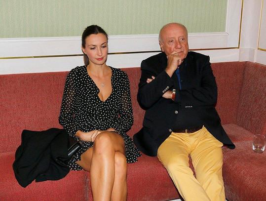 Lucie Gelemová a Felix Slováček se k sobě moc neměli.