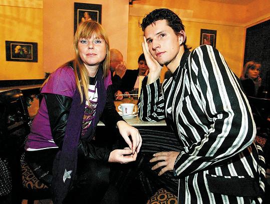 Lenka Kořínková s manželem (2006)