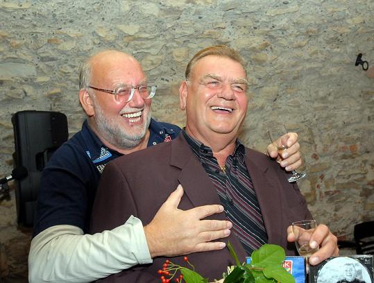 S bratrem Janem Nedvědem