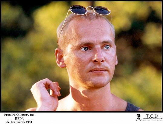 Radek Pastrňák ve filmu Jízda z roku 1994