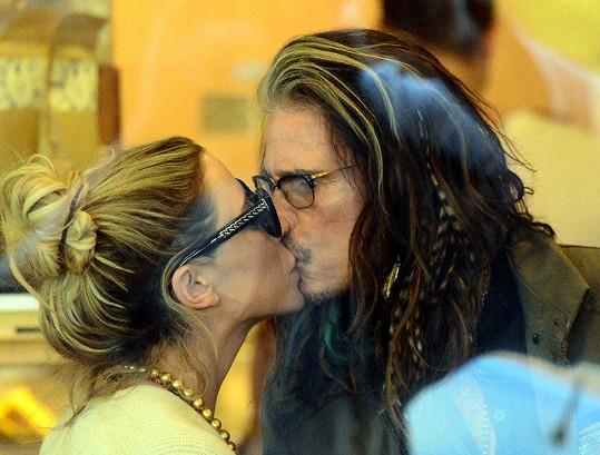 Steven Tyler a Aimee Ann Preston