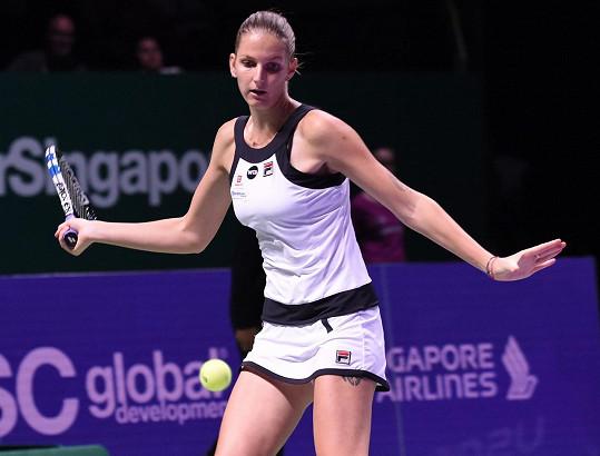 Karolína Plíšková první zápas vyhrála. Ale byly to nervy.