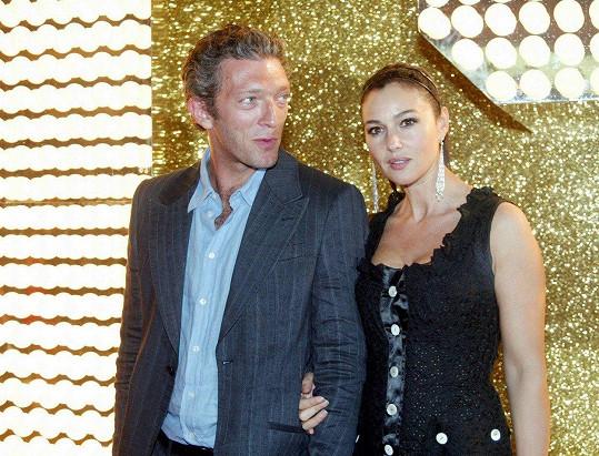 Monica byla manželkou Vincenta v letech 1999-2013.
