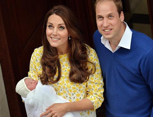 Pyšní rodiče si holčičku odvezli domů ještě v den porodu.