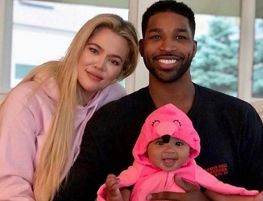 S basketbalistou má dceru True.