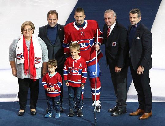 Tomáš Plekanec by o Vánocích rád viděl své syny.