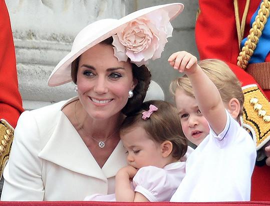 Catherine byla jako vždy ztělesněním elegance a noblesy.