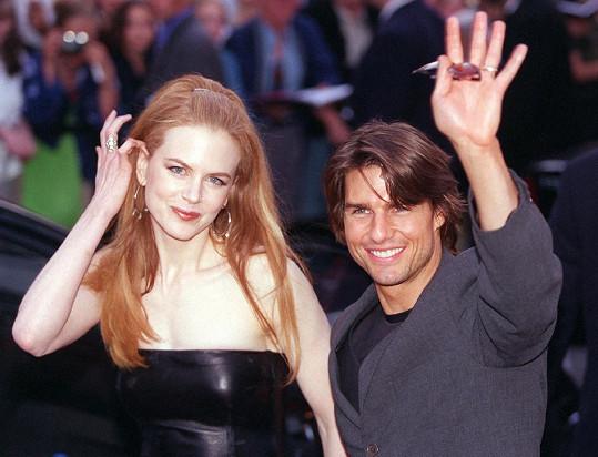 Exmanželé Nicole Kidman a Tom Cruise si pořídili dvě adoptované děti.