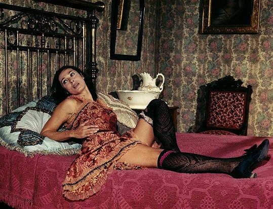 Rita Gam ve filmu Vyrovnávání účtů (1971)