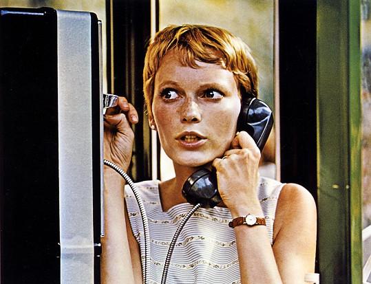 Mia Farrow ve filmu Rosemary má děťátko (1968)