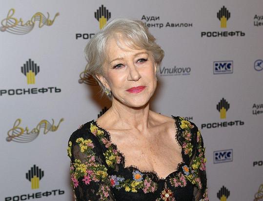 Helen Mirren zavzpomínala na zesnulou sestřenici Taniu Mallet.