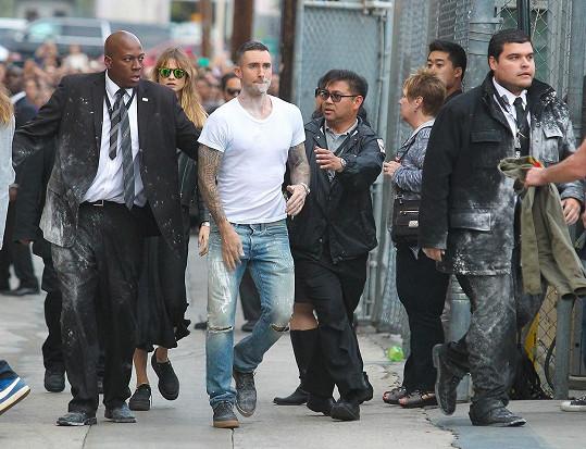 Pocukrovaní skončili i bodyguardi.