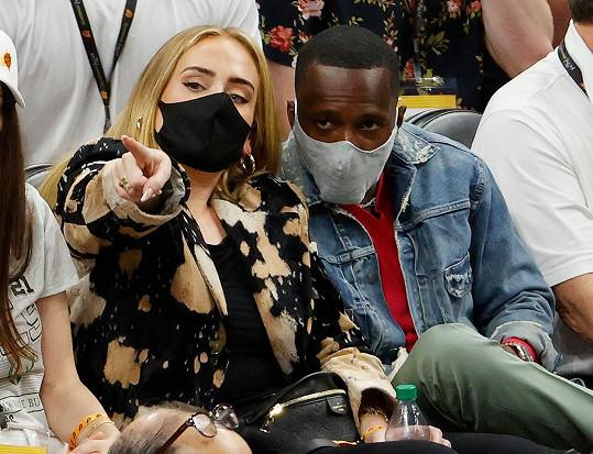 Adele zašla na basket s Richem Paulem.