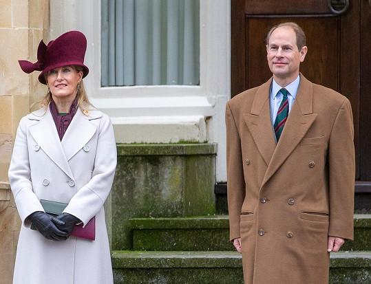 Ani princ Edward s manželkou Sophií.