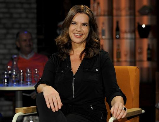 Půvabná Katarina v listopadu vystoupila v německém rádiu.