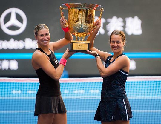 Během své sportovní kariéry dávala Andrea (vlevo) přednost praktičnosti před efektem.