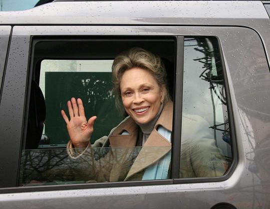 Faye Dunaway ještě v roce 2007
