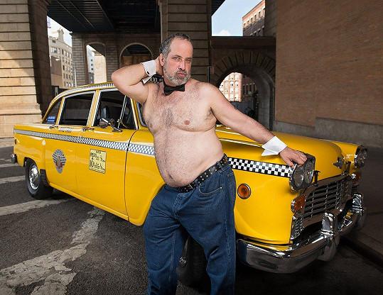 Každý taxikář může být v kalendáři sexy.