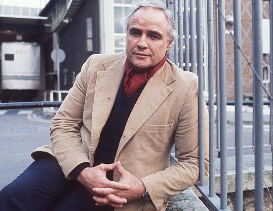 Marlon Brando zemřel v 80 letech.
