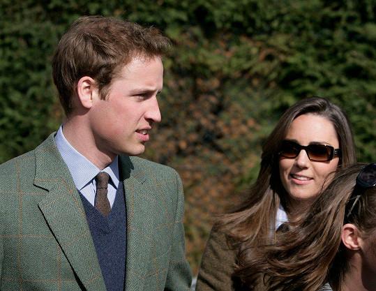 Začátky Williama a Kate na veřejnosti