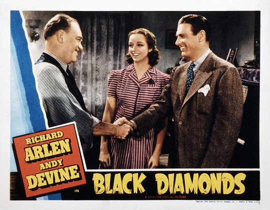 Kathryn Adams ve filmu Black Diamonds (1940)
