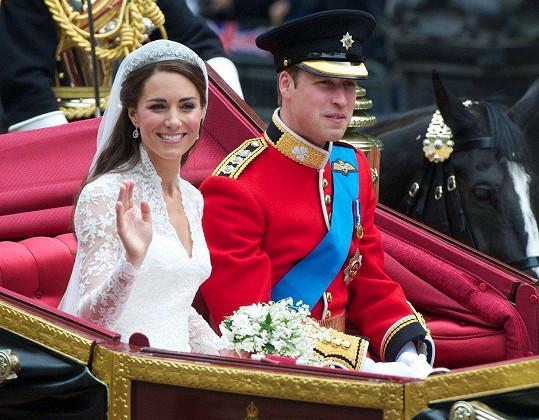 Stejně jako před lety William a Kate.