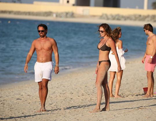 S manželem Jayem Rutlandem chtěli strávit začátky roku 2016 v Dubaji.